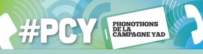 #PCY - Phonothons de la campagne YAD
