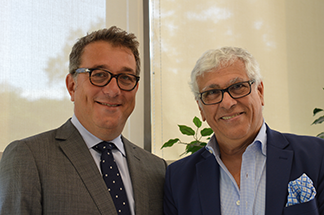 Frédéric Dayan, Chair of Sepharade Philanthropy Campaign and Sylvain Abitbol, President of Sepharade Philanthropy