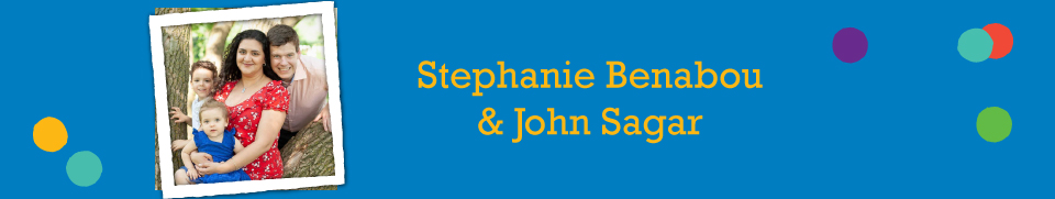 Stephanie Benabou and John Sagar