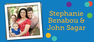 Stephanie Benabou & John Sagar