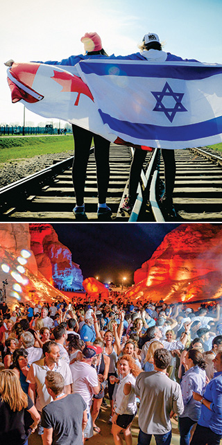 Israel Experience - march of the Living Montreal  Federation CJA
